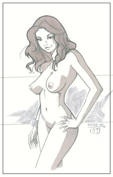 Nude Cutie - Practice by MichaelCrichlow