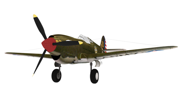 P-40 Progress 018 by kbmxpxfan