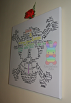 Strawhat Word Art Canvas by louisalulu