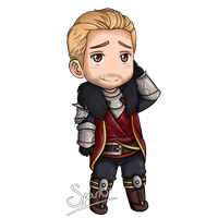 Commission: Cullen Rutherford Chibi by SparksReactor