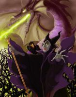 Maleficent by peetietang