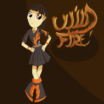 Equestria Girls - Wildfire by Necrath