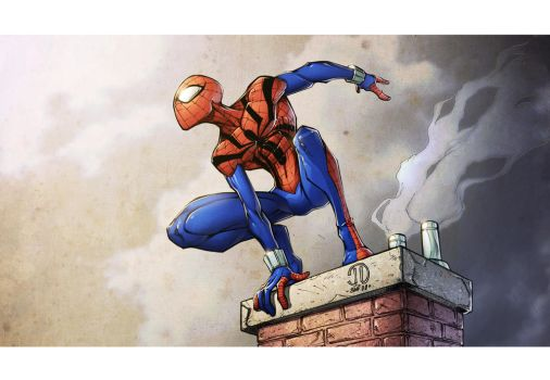 Ben Reilly the Clone by spidermanfan2099