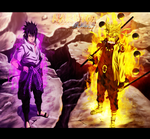 Naruto 673 - The Final Fight - Coloring by DEOHVI