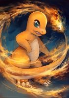 Commission for Charlymander: Charmander Fighter