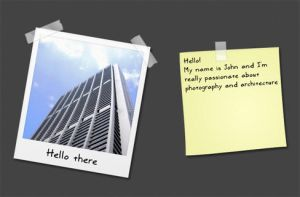 Freebie: Photoframe and tapes by DarkoAb
