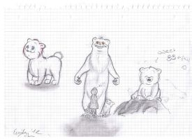 First bears in ma life o.O by DiaBerry