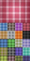 21 tileable fabric textures by elemis