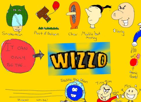 Wizzo Tribute Poster by Jsb97