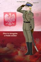How to recognize a Polish soldier by Janemin