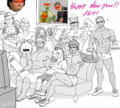 Happy New Year /fit/ by tamanegi059