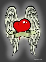 Cool Heart With Wings by cjgolden73088 on DeviantArt