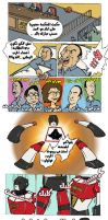 Barbatoze Comics: Mubarak and the giant robot by sheefo