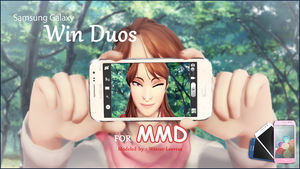 [MMD] Samsung Galaxy Win Dous DL by Winter-Leaves
