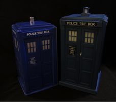 Dapol and Character Options: The Tardis by Police-Box-Traveler