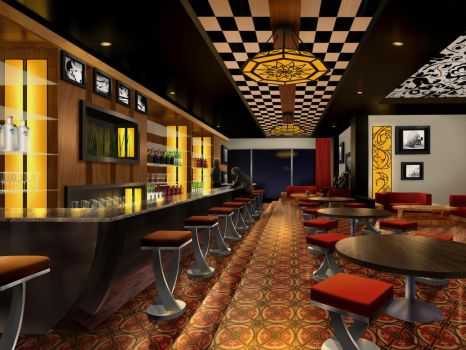 Location Background: Bar and Lounge by HuniePot