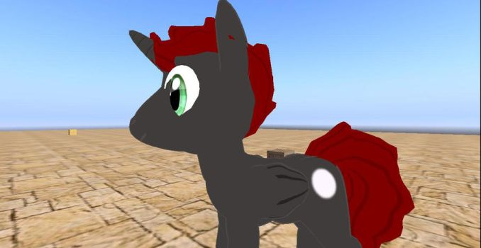 first attempt of editing a pony av by musclewolfofsl