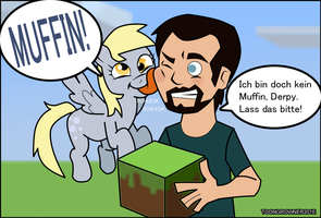 Gronkh and Derpy by toongrowner