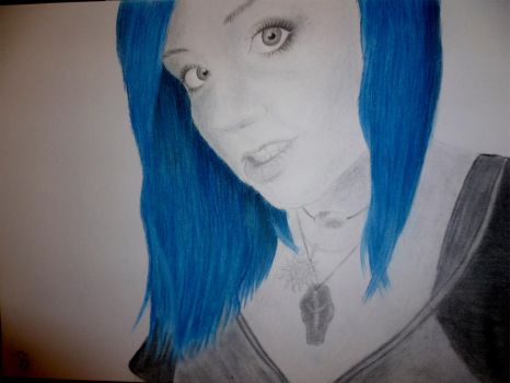 Hanna in blue by Artyra