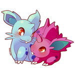 Nidoran by SeviYummy