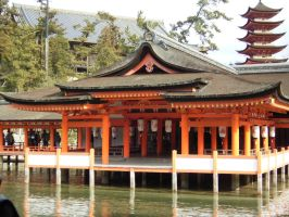 Japan- Temple by sexy-pants