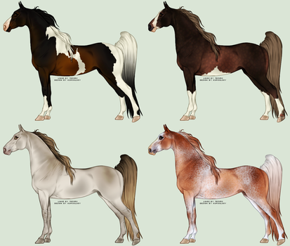 Designs for Malachim-Stables by Kumoulogy