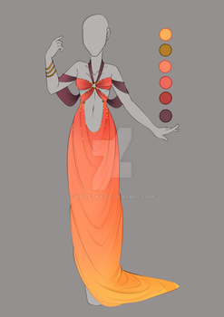 :: September Commission 03: Outfit design :: by VioletKy
