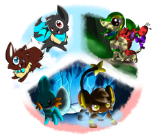 Pokemon Mystery Dungeon: To Infinity and Beyond! by CrystalFeza