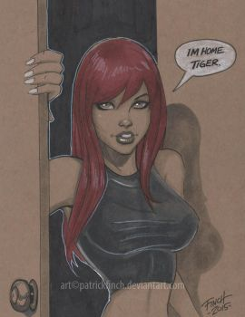 Mary Jane by PatrickFinch