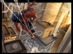Spiderman NY by VinRoc