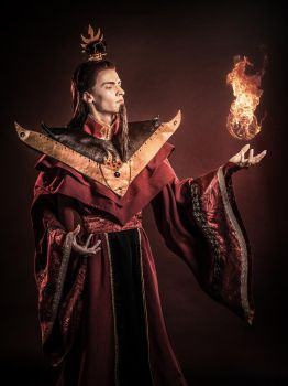 Firelord Ozai by adenry