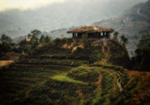 Tribal house in Sapa by smoothpappa