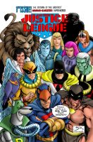 Hanna Barbera Justice  League International Cover by Rankore2000