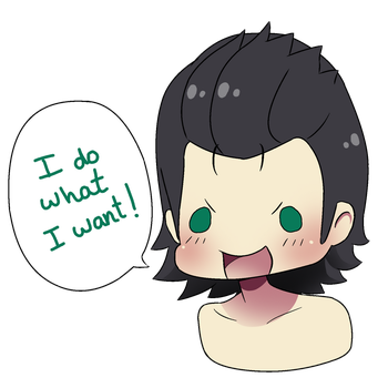 Chibi Loki: I do what I want! by NarumyNatsue