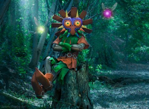 Skull Kid from TLOZ: Majora's Mask by Reneks