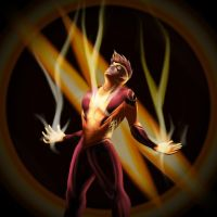 Speed Force (Kid Flash) by Cristina37