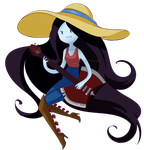 428px-Adventure time marceline by vipdraw