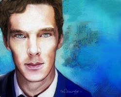 Benedict Cumberbatch-07 by BlueZest