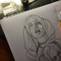 start drawing by MaryRiotJane