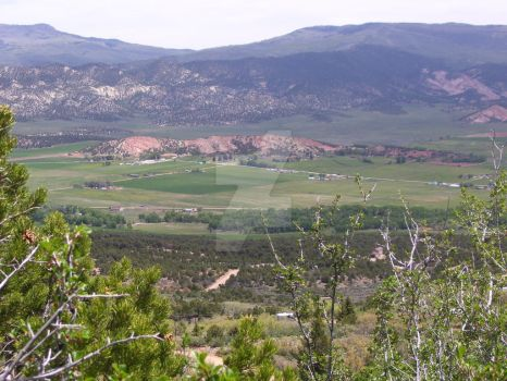 Mountain Country Valley View by Shannon1234567
