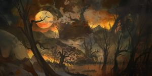 Forest Fire by Howi3