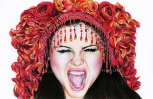 Selena Gome Come and Get It by aleexart