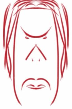 Angry Man iPhone Sketch by eVision