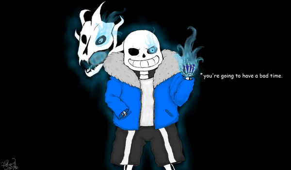 Gonna have a bad time there, friend by heatherful