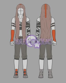 Custom Clothing Commission for Meloki (3/3) by xDreamyDesigns