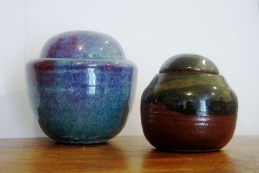 lidded pieces by Brookelynn-marie