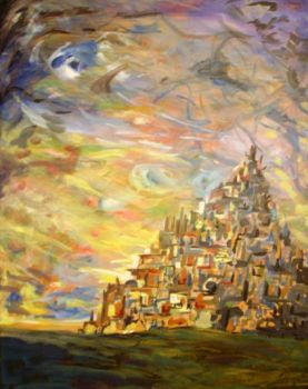 Abstract Castle by Friendly-Ben
