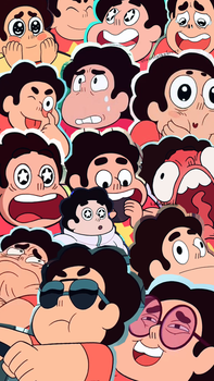 Steven Universe tumblr collage wallpaper by LauriAtweh