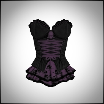 Goth Corset DOWNLOAD by LizzyVolti