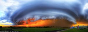 September Supercell IX by FramedByNature